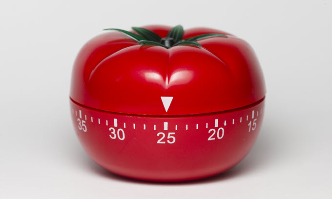 Get Focused With The Pomodoro Technique!